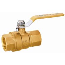 T10246 Vanne à bille en laiton pour compteur de gaz à gaz, EN331, main levée