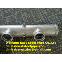 Sprinkler Welded Connect Fire Fighting Steel Pipe