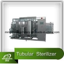 Esterilizador tubular de aquecimento elétrico