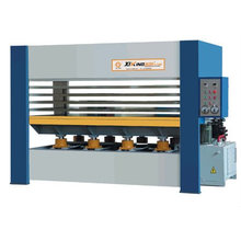 hydraulic hot press machine for wood
