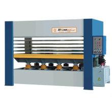 hydraulic hot press machine for wood