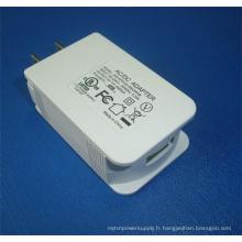 Chargeur USB pour tablette 5V2A / Canada / Japon