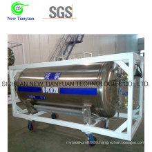 Liquid Oxygen 455L Volume Dewar Cryogenic Cylinder