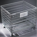 Collapsible Wire Mesh Pallet Cage