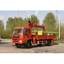 Wholesale Dealers of for Small Truck Mobile Crane 8 ton truck with crane export to Mauritania Manufacturers
