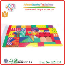 Colorful Wooden Blocks Kids Educational Toys, Hot Early Childhood Educational Toys