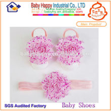 wholesale cheap headbands baby barefoot sandals