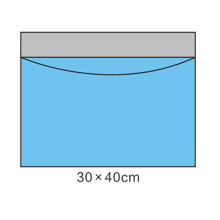 100% непроницаемый мешок для сбора жидкости Хирургические простыни