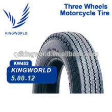 Tensile Strength 5.00-12 Tricycle Tire