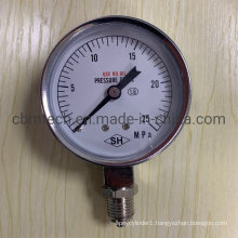 Use No Oil Pressure Gauges 25MPa with Good Quality