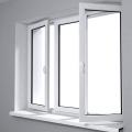 Janelas de vidro de vidro temperado e janelas de batente de portas com mosquiteiro