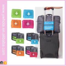 New Custom Aircraft Travel Trolley Bag Large Capacity Folding Bags