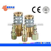 Accouplements à tuyaux pneumatiques à déclenchement pneumatique, coupleur rapide