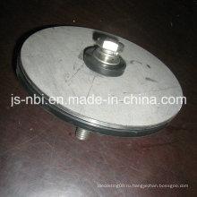 Плоская штепсельная вилка из нержавеющей стали
