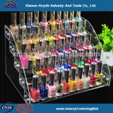 Clear acrylic makeup cosmetic organizer with drawers
