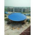 Stade de football de structure en acier préfabriquée de conception professionnelle