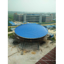Полуфабрикат стальной структуры для здания мастерской Пакгауза