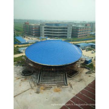 Structure en acier préfabriquée pour le bâtiment d'atelier d'entrepôt