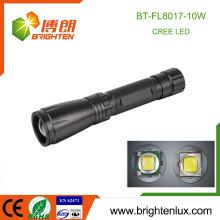 Factory Bulk Sale 3 modes lumière Métal Matériau Long Beam Gamme Zoom Focus xml2 10watt Power Style Cree led Torch Light
