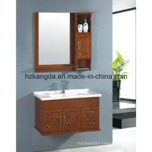 Cabinet de salle de bain en bois massif / vanité de salle de bain en bois massif (KD-447)