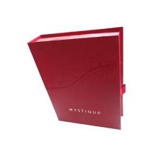 Caja de empaquetado cosmética cuadrada de la forma del libro