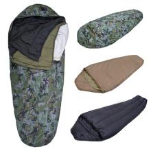 Sac de couchage militaire léger momie de camping en plein air