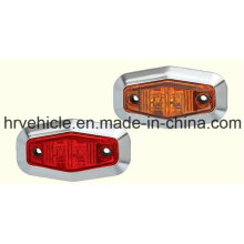 Oval Shape Side Marker Lamp for Trucks Trailers