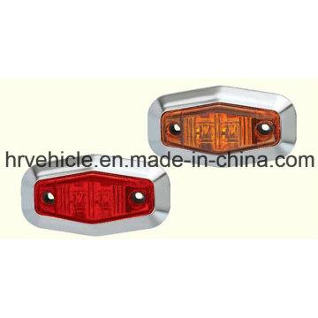 Lampe de marquage latéral ovale pour camions Remorques