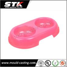 Nuevo tazón de fuente plástico respetuoso del medio ambiente del agua para los animales domésticos (STK-PLH0010)