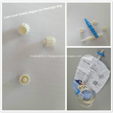 Bouchon de laboratoire dispositif de fermeture de connexion luer lock