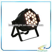 Quad wash 18 x 8w LED PAR RGBW