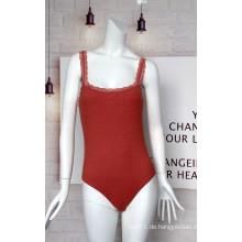 Neueste Design Ladies Lace Suspenders Jumpsuit