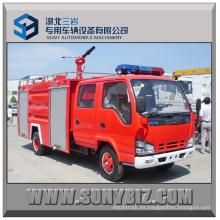 2000L Isuzu 4X2 Pequeño camión de bomberos
