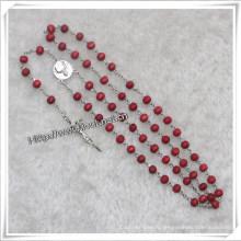 Religious Wooden Beads Rosary, Catholic Wooden Rosary (IO-cr325)