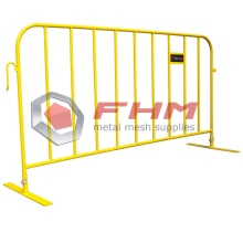 Safety Yellow Heavy Duty Interlocking Crowd Control Barrier