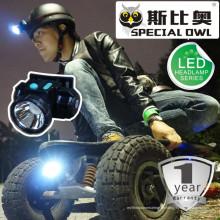 1W 2W LED Scheinwerfer 1PC nachladbare Lithiumbatterie Leistungsfähige Lichtstrahlen, die Licht, Fischen-Licht schwimmen