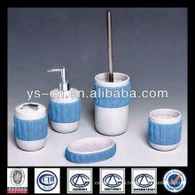 2014 новый уникальный специальный синий керамический ванной жидкое мыло распылитель
