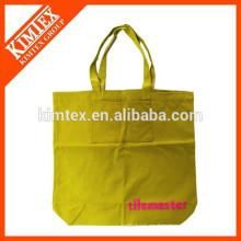 Divertido bolso de compras plegable no tejido de algodón