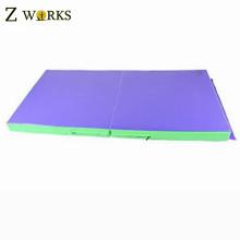 Tapis se pliant d'entraînement de gymnastique de tapis de gymnastique de tapis de grande taille de mousse