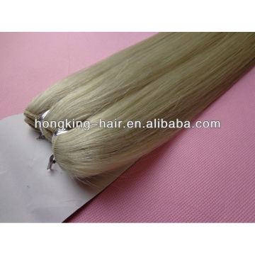 smooth and soft 5a 100% platinum blonde hair, platinum blond remy hair weave