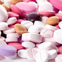 Fichas de ácido fólico sulfato + ácido fólico para la salud