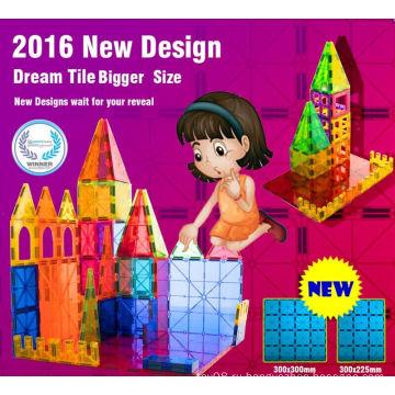 Популярные новые развивающие игрушки с магнитными блоками 2016