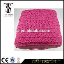 Travesseiro de almofada / travesseiros de almofada branca vermelha