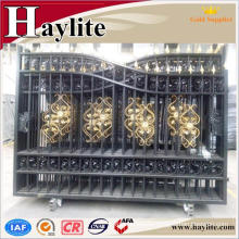 house main iron square tube gate door designs