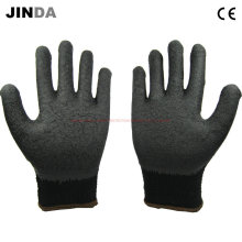 Ls016 Construction Latex Coated Working Gloves