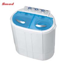 Lavadora doble de la tina del cargamento superior del hogar de la capacidad de lavado 3kg