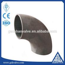 Sch40 coude en acier au carbone à 90 degrés