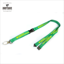 Promotional Gift Printed Neck Lanyard with Egg Hook