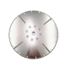 China 230mm diamond  electroplate disc  for cutting marble