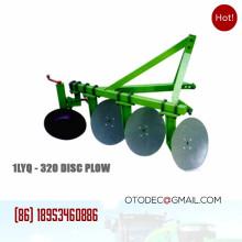 Agrícola 1LYQ-320 montado en disco tractor arado equipo de 3 puntos